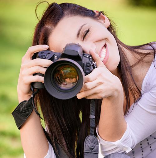 Fotografare con reflex e con smartphone in compagnia di un professionista