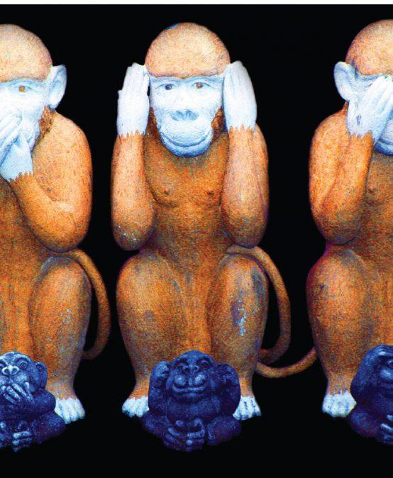 La manipolazione e l'educazione al silenzio