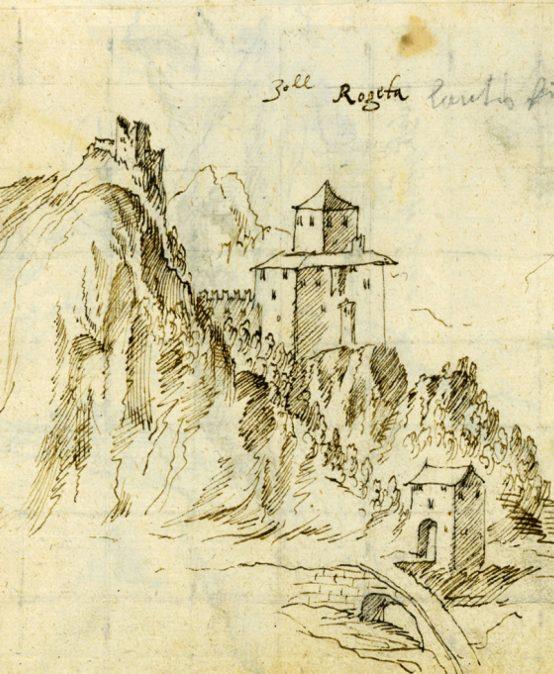 Il Codice Brandis e i castelli del Trentino
